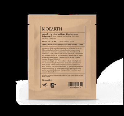 Bioearth - Maschera antiage idratazione intensa in cellulosa