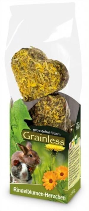 Jr Farm Grainless Piccoli Cuori con Erbe e Fiori di Calendula