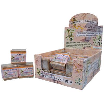 Biomeda - Sapone di Aleppo 20% olio di alloro