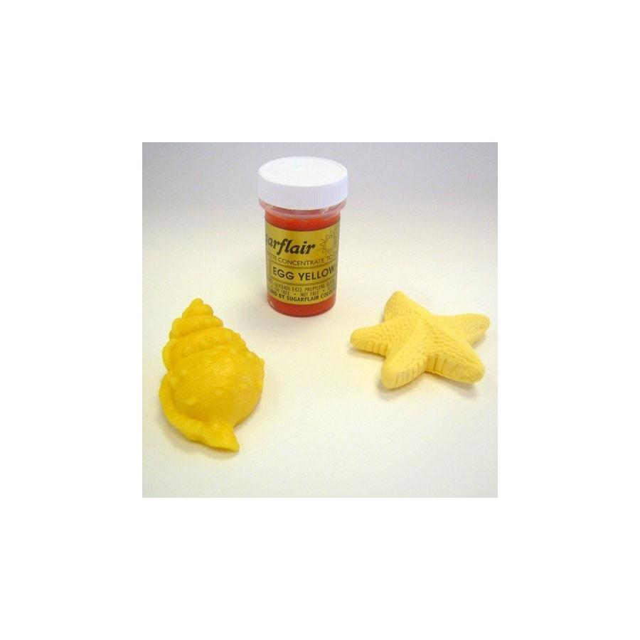 Colorante gel Sugarflair 25 gr giallo uovo