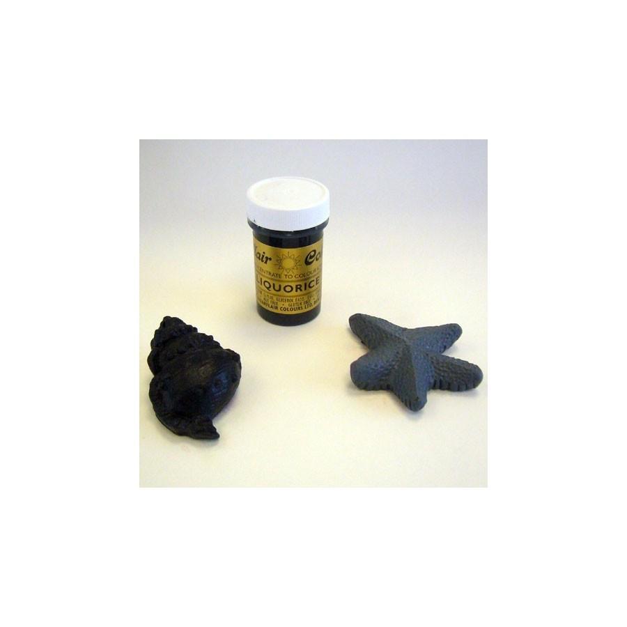 Colorante gel Sugarflair 25 gr nero liquirizia