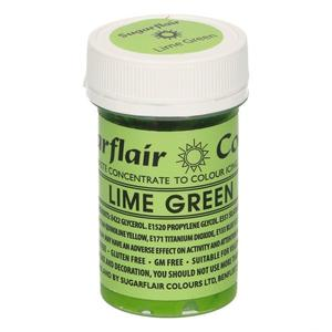 Colorante gel Sugarflair 25 gr verde lime