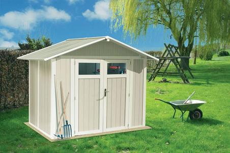 Casetta da giardino ripostiglio PVC GROSFILLEX UTILITY 4 misura 242 x 162