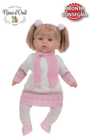 Bambola Profumata, in Vinile Tita Tricot di Nines d'Onil, Completa di Scatola