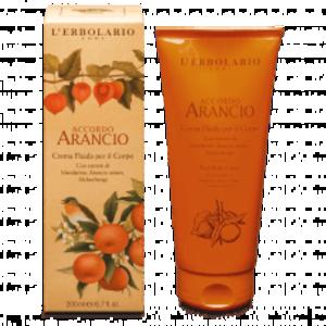 L'Erbolario - Accordo Arancio Crema fluida corpo
