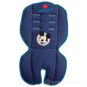 Copri Seggiolino o passeggino Imbottito Blu Topolino Disney Mickey Mouse