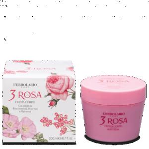 L'Erbolario - 3Rosa Crema corpo
