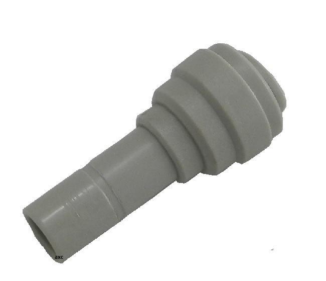 Adattatore codolo/tubo dritto