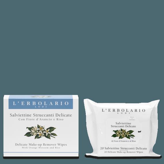 L'Erbolario - Salviettine struccanti delicate