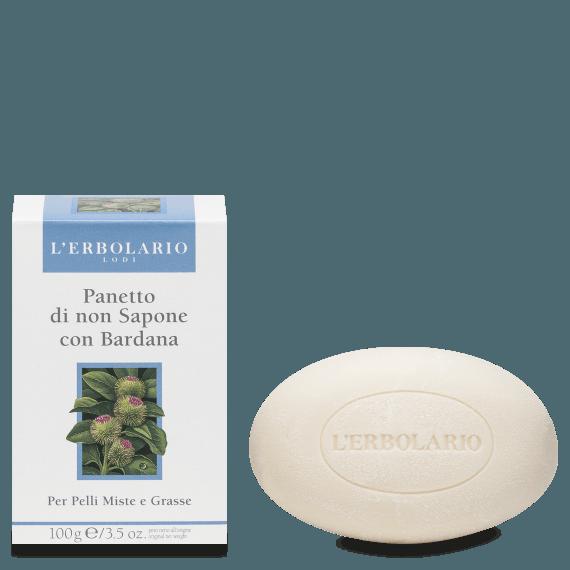 L'Erbolario - Panetto di non Sapone con Bardana