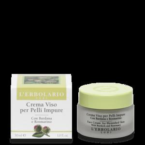 L'Erbolario - Crema viso per pelli impure