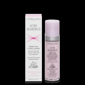 L'Erbolario - Acido Ialuronico Crema viso pelli normali e secche