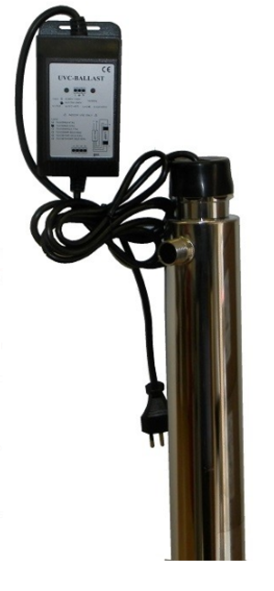 Debatterizzatore Ultraviolletti 55 Watt.