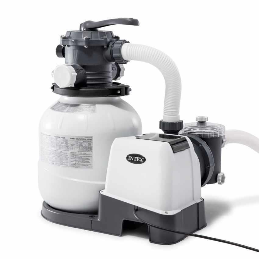 Pompa Filtro Sabbia INTEX 26646 Ex 28646 Universale Piscine Fuori Terra 7900 Lt/Hr