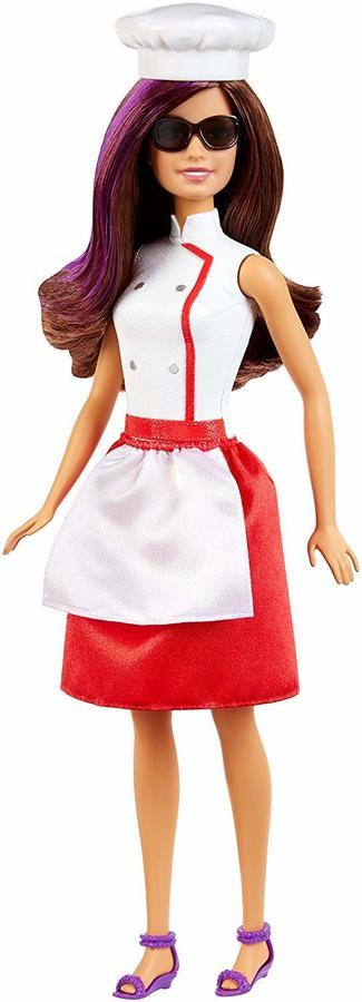 Mattel DKN01 Bambola Barbie Spy Quad Agente Segreto Cuoca Teresa