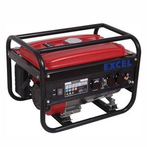 Generatore di corrente  EXCEL GN 2800 potenza 2,8 kW 3,5 kVA caricabatterie 12 V motore 4T HP 6,5 cc 196