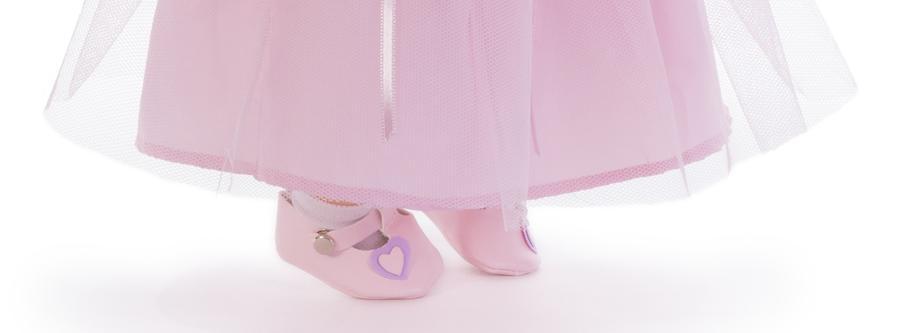 Bambola Nines d'Onil 'Celia Pink' Profumata in Vinile Completa di Scatola
