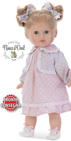 Bambola Nines d'Onil 'Tina' Profumata in Vinile Completa di Scatola