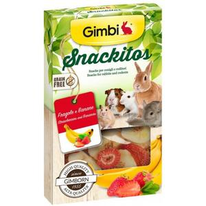 Gimbi Snackitos Fragola-Banana