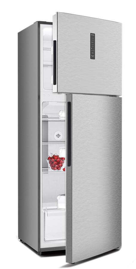 DAYA frigorifero doppia porta 425lt A+ INOX No Frost DDP-54DX