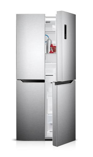 DAYA frigorifero side by side quattro porte 399lt A+ INOX No Frost DF4-580
