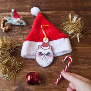 Palla di Natale gatto natale