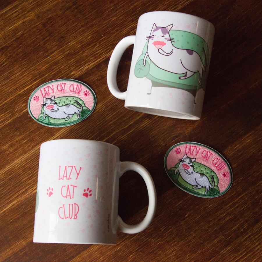 Mug Lazy Cat Club
