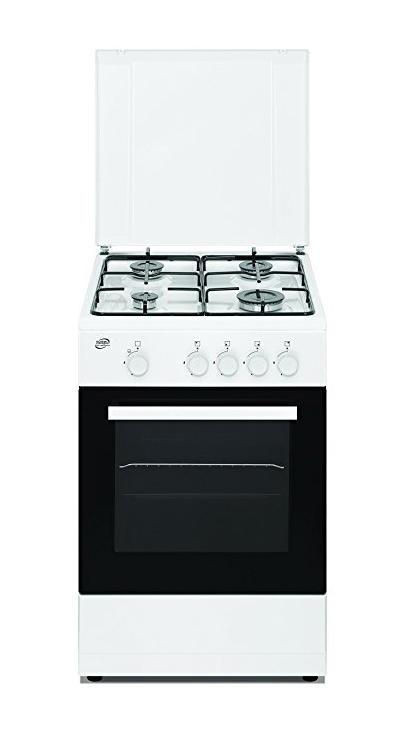 DAYA Cucina 4 F Bianca 50x50 - Forno a Gas