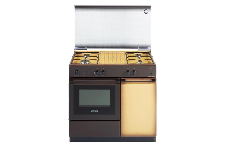 DE LONGHI cucina forno a gas + grill 85X50 MARRONE SGGK854N