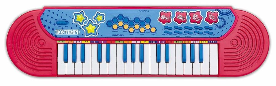 Tastiera 32 Tasti Suoni Ritmi - Bontempi 12 3080 - 3+ anni