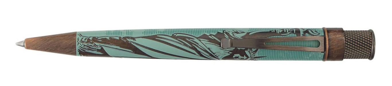 Roller in metallo modello STATUE OF LIBERTY finiture anticate