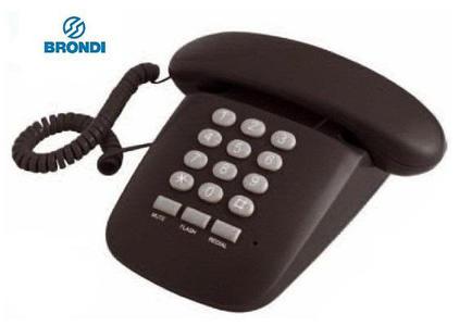 BRONDI Sole telefono fisso / NERO - BIANCO - ROSSO