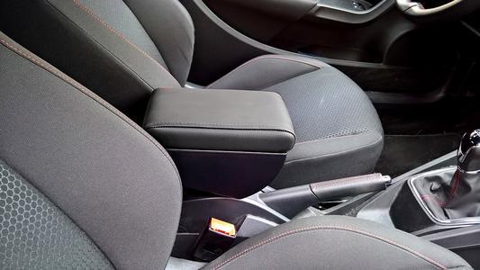 Bracciolo regolabile con portaoggetti per Seat Ibiza (2009-2017) IV Serie