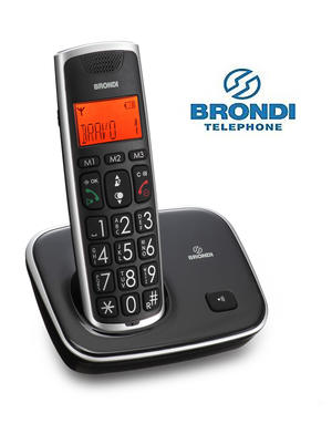 BRONDI Bravo Gold cordless NERO - BIANCO - BLU - ROSSO