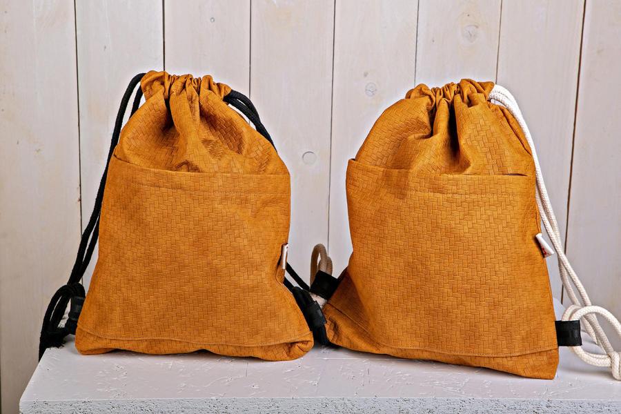 "Bag ""LABYRINT"" dark yellow"