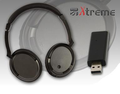 XTREME Cuffia  Wireless TV con FM Radio