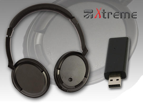 XTREME cuffia  wireless TV con MF radio 33571