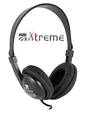 XTREME Cuffia Audio Professionale con Cavo 6 metri + Microfono