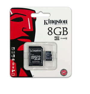 MICRO SD 8GB KINGSTON CLA 4