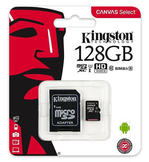 KINGSTONE micro SD 128GB secure digital CLA10
