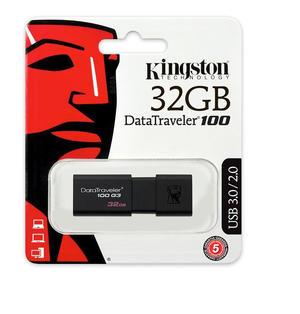KINGSTON Pendrive 32 GB DT100 3.0