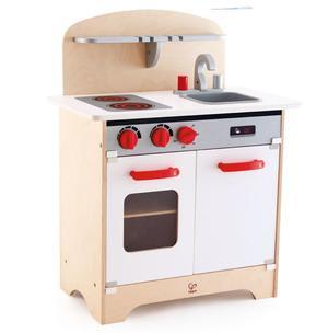 Cucina Multifunzione da Chef Gourmet Bianca  in Legno Hape