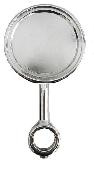 Medaglione lungo per applicazione etichetta sul rubinetto spina.