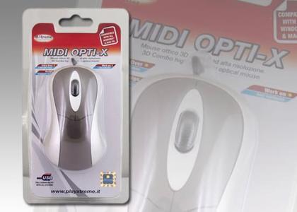 XTREME mouse Midi 2T+SCR USB 94563
