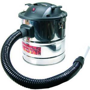 Aspiracenere elettrico PHENIX bidone aspiracenere LAPILLO inox 18 lt da 1000w