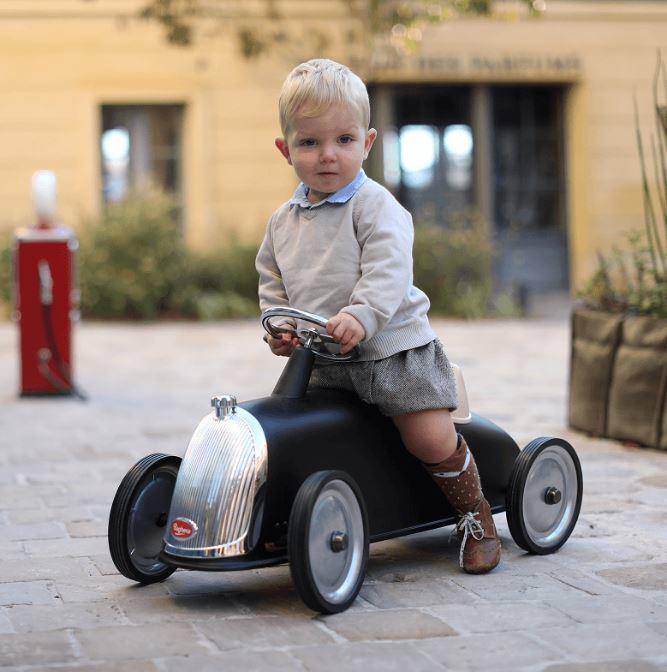 """Cavalcabile in Metallo """"Nero"""" per Bambini della Linea I Riders di Baghera 823 836"""