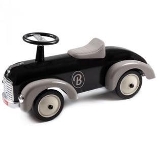 """Cavalcabile in Metallo """"Black"""" per Bambini della Linea Speedsters di Baghera 922"""