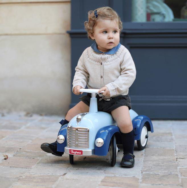 """Cavalcabile in Metallo """"Blu"""" per Bambini della Linea Speedsters di Baghera 923"""