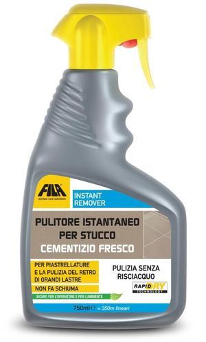 Detergente spray FILA INSTANT REMOVER pulitore instantaneo per stucco cementizio fresco
