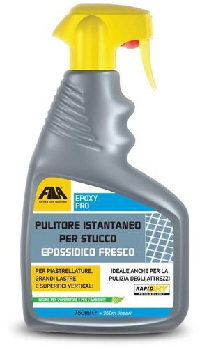 Detergente spray FILA EPOXY PRO pulitore istantaneo per stucco epossidico fresco ml 750